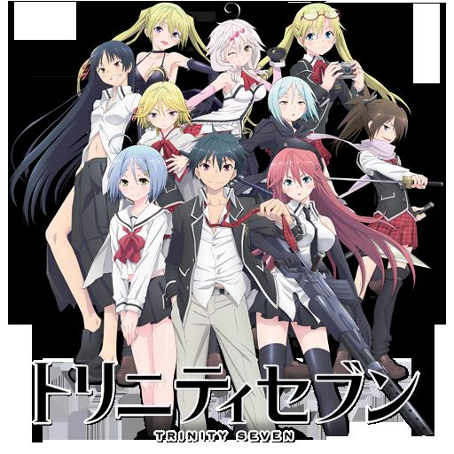 Trinity Seven: 7-nin no Masho Tsukai (2014-19)